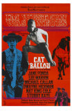 Cat Ballou, German Movie Poster, 1965