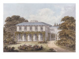 Design for a House to be Built on Clapham Common by William Holme Esq.