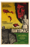 Fantomas, Argentine Movie Poster, 1964
