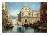 Buy Scuola di San Marco, Venice, 1860 at AllPosters.com