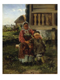 Village Children, 1880