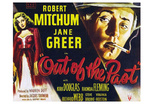 Out of the Past, UK Movie Poster, 1947