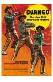 Django Shoots First, German Movie Poster, 1966