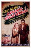 Arsenic and Old Lace, Belgian Movie Poster, 1944