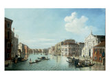 The Grand Canal, Venice, looking South East to the Fabriche Nuovo di Rialto