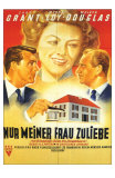 Mr. Blandings Builds His Dream House, German Movie Poster, 1948