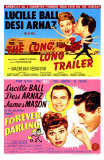 Long, Long Trailer, The / Forever Darling, 1954