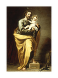 St Joseph with the Infant Christ