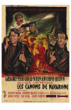 The Guns of Navarone, French Movie Poster, 1961