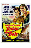 The Adventures of Robin Hood, Belgian Movie Poster, 1938