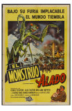 The Deadly Mantis, Argentine Movie Poster, 1957