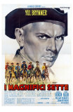 The Magnificent Seven, Italian Movie Poster, 1960