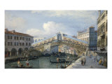 Buy Venice, the Grand Canal, the Rialto Bridge from the South at AllPosters.com