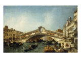 Venice, the Rialto Bridge from the South