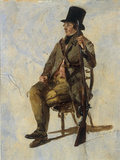 A Study of a Gamekeeper, 1834