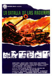 Battle of the Bulge, Spanish Movie Poster, 1966