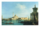Buy View of Venice from the Punta della Dogana towards San Giorgio Maggiore at AllPosters.com