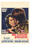 Love With the Proper Stranger, Belgian Movie Poster, 1964