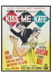 Kiss Me Kate, Danish Movie Poster, 1953