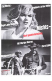 The Misfits, German Movie Poster, 1961