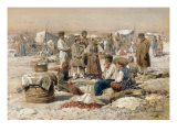 A Country Market, 1895