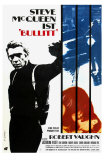 Bullitt, German Movie Poster, 1968