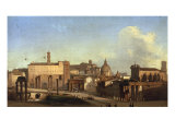A View of the Forum, Rome, 1830 Giclee Print