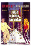 Viva Las Vegas, German Movie Poster, 1964