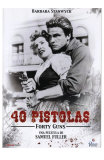 Forty Guns, Spanish Movie Poster, 1957
