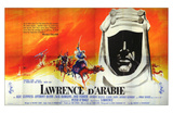 Lawrence of Arabia, French Movie Poster, 1963