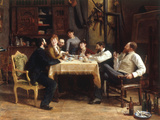 A Friend's Lunch, 1885