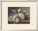Still Life of Yellow Roses