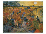 The Red Vineyards at Arles, 1888