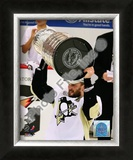 Sergei Gonchar Game 7 - 2008-09 NHL Stanley Cup Finals With Trophy