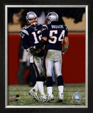 Tom Brady & Tedy Bruschi - 2004-2005 Patriots AFC Division Playoff Game