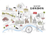 Map of London Art Print