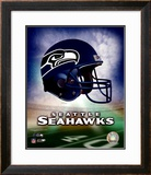 Seattle Seahawks Helmet Logo ©Photofile
