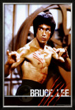 Bruce Lee Framed Poster