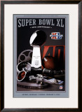 Super Bowl 40 Theme Art