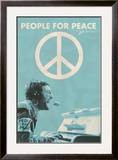 John Lennon - People for Peace Framed Poster