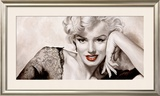In Your Eyes, Marilyn Framed Art Print