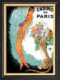 Josephine Baker: Casino De Paris Framed Art Print