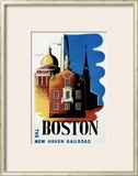 New Haven Railroad, Boston