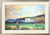 Golf in Northern Ireland, LMS Poster, circa 1925
