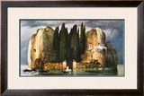 The Island of Dead Framed Art Print