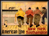 American Line, New York to Southampton
