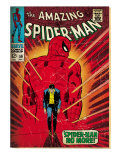 Marvel Comics Retro: The Amazing Spider-Man Comic Book Cover No.50, Spider-Man No More! (aged)