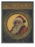 Illustration Of Santa Claus Portrait