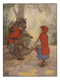 Illustrtation From Little Red Riding Hood