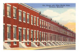Row Houses, Baltimore, Maryland